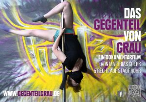 Matthias Coers DAS GEGENTEIL VON GRAU Sticker Puff Girls zweischritte.berlin coersvideo
