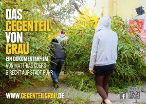 Matthias Coers DAS GEGENTEIL VON GRAU Sticker RaumRäuber zweischritte.berlin coersvideo