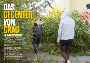 thumbnail of Das Gegenteil von Grau – Plakat Premieren