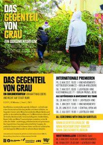 thumbnail of DAS GEGENTEIL VON GRAU Berlin Premieren